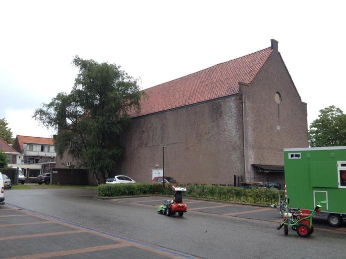 In de nieuwbouwplannen van het City Theater komt de ingang aan de achterzijde.