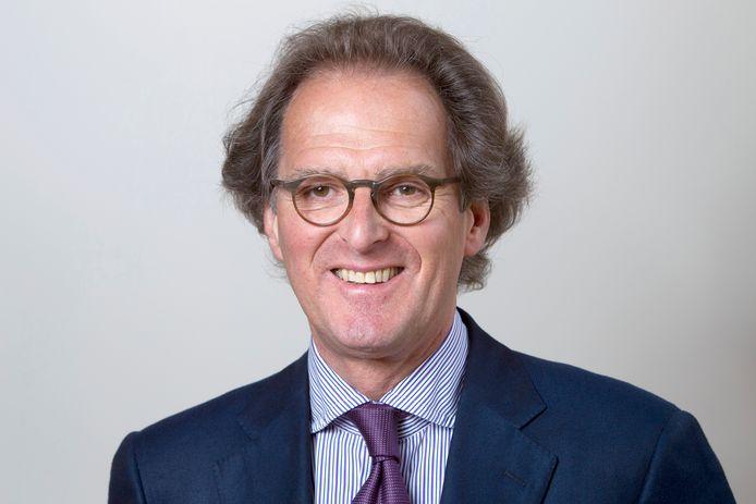Scheidend burgemeester Ton Rombouts.