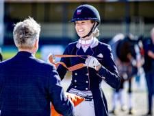 Prima debuut Dinja van Liere op EK dressuur
