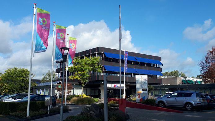 Het Soweco-complex aan de Plesmanweg in Almelo.