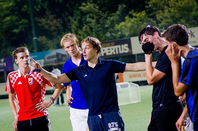Matthijs Brouwer was ook coach van de mannen van hockeyclub Breda.