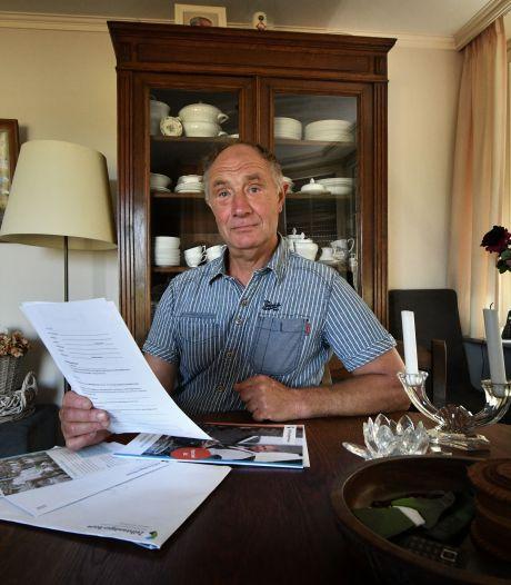 Metselaar Laurens (64) uit Buurse werkt op eigen risico: 'Niemand wil mij verzekeren'