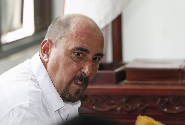 Serge Atlaoui (51), de Fransman die in Indonesië ter dood veroordeeld is. Beeld REUTERS