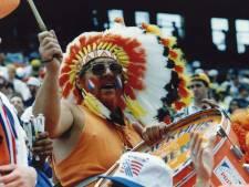 'Oranje-indiaan' Graadje als eerste op Oranjecamping
