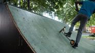 Skateramp even niet bruikbaar door... duivenmest