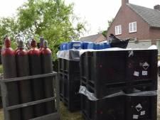 Verdachten van drugslab in Reek opgepakt in Valkenswaard, Eindhoven en Oirschot