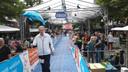 Thomas van Os komt voor de tiende keer aan op het Raadhuisplein met de 80 van Langstraat, voor de tiende keer voor een goed doel.