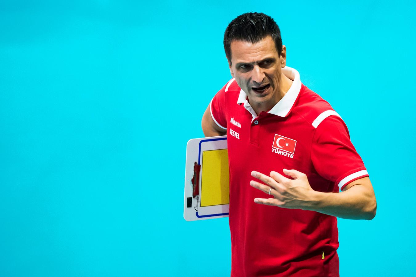 Giovanni Guidetti is tegenwoordig bondscoach van Turkije.