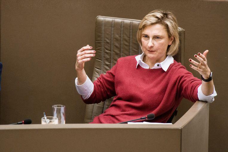 Minister van Onderwijs Hilde Crevits. Beeld Eric de Mildt