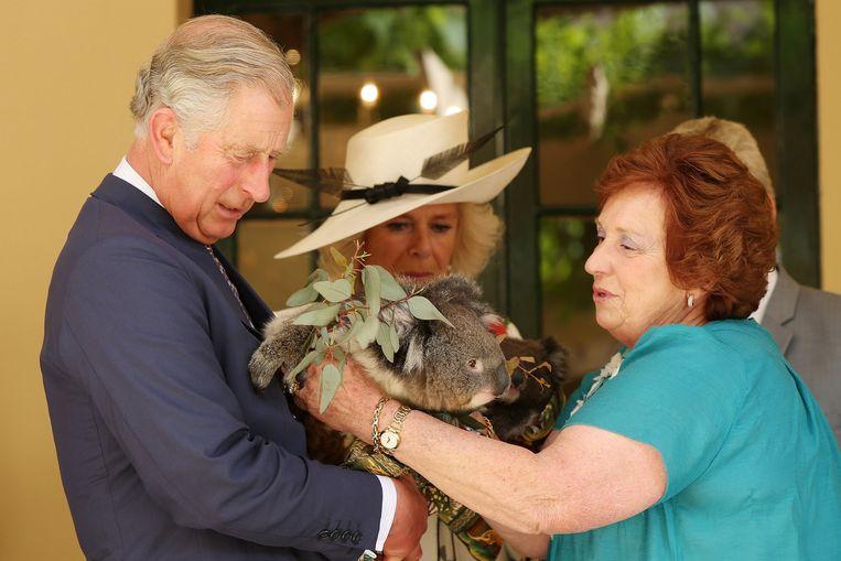 Prins Charles en Camilla in Adelaide in 2012. Beeld AFP