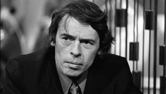 Jacques Brel op een archiefbeeld uit 1973.