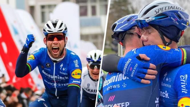Mark Cavendish kan na drie jaar nog eens winnen: Brit klopt Philipsen in Turkije en valt Jakobsen in de armen