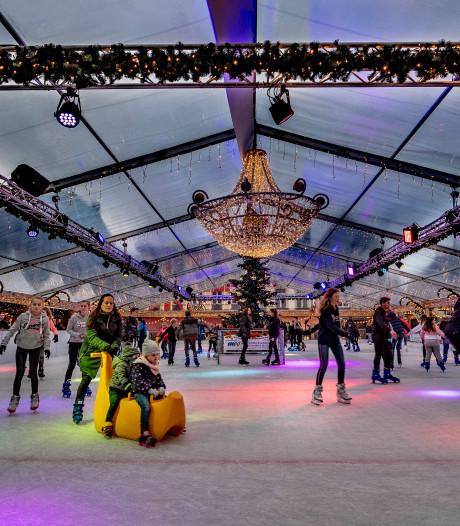 Het is nog niet ijskoud maar de schaatspret is begonnen in de regio Bergen op Zoom