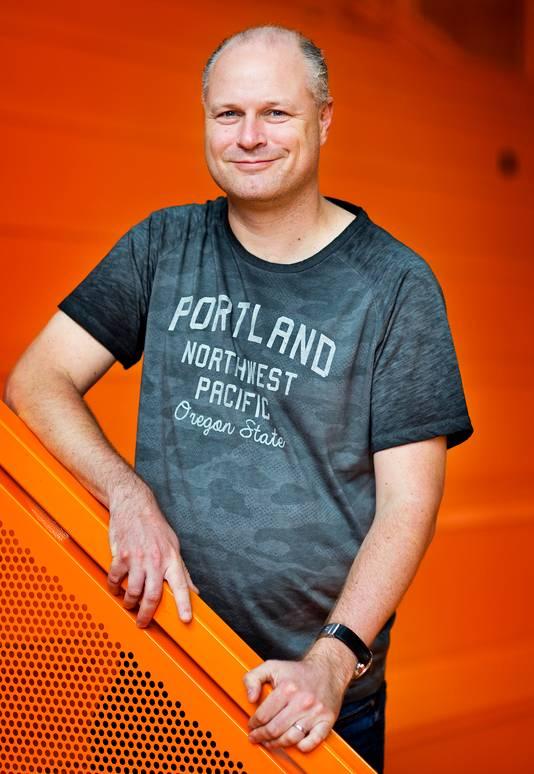 Onderzoeker Joris Hoekstra