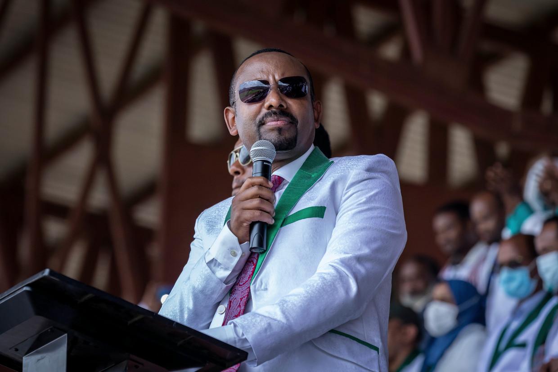 De Ethiopische premier Abiy Ahmed. Beeld AP