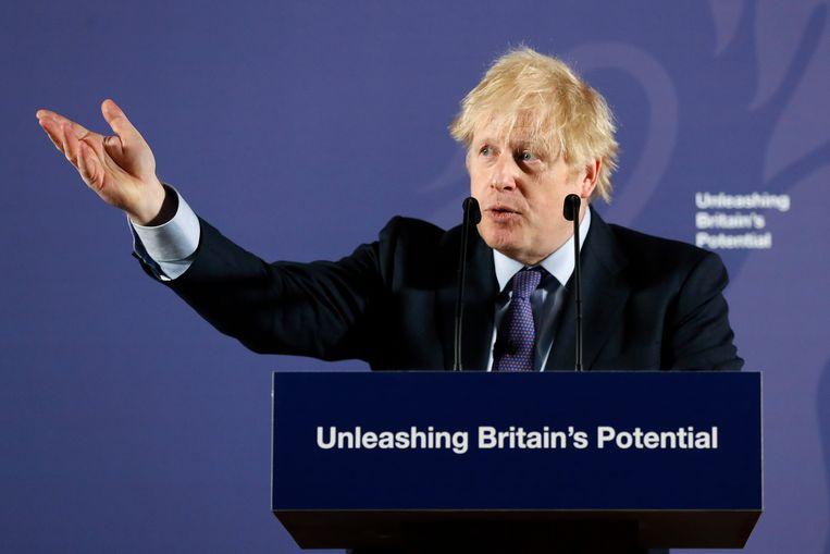 Britse premier Boris Johnson. Beeld AP