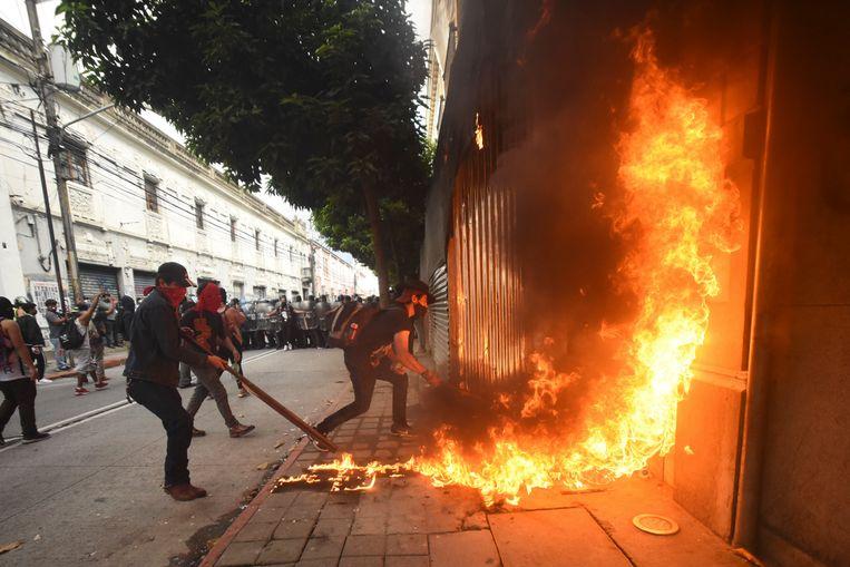 Orlando  ESTRADA / AFP Beeld Hollandse Hoogte / AFP