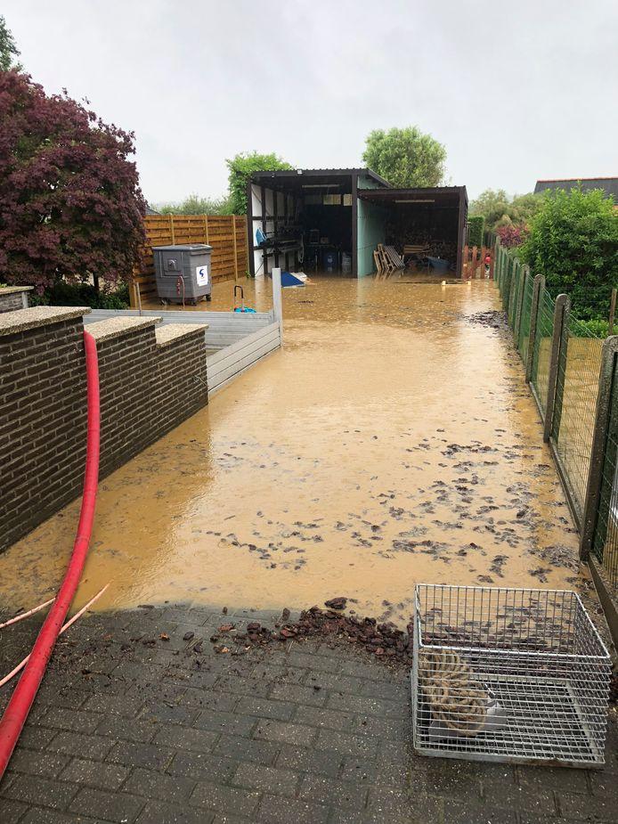 Een bufferzone moet ook een einde maken aan de waterellende langs de Oude Tiense Baan in  Scherpenheuvel-Zichem.