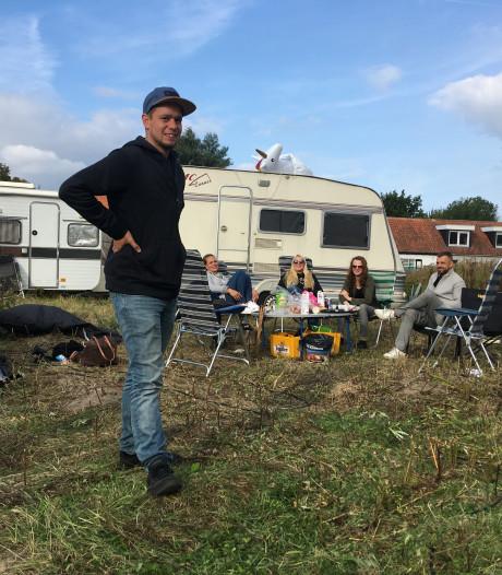 Gemeente beraadt zich nog over reactie op kraakcamping in Scharendijke