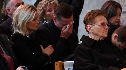 Van der Poel laat tranen vrije loop op begrafenis Poulidor