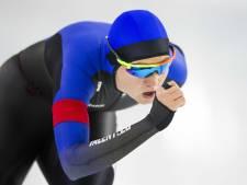 Schaatsster Lotte van Beek in ploegenachtervolging voor WK afstanden