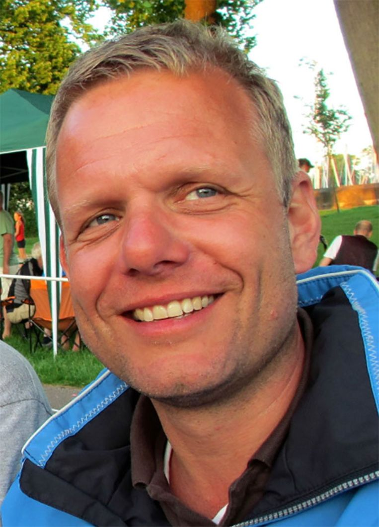 Frank Elshof, sinds drie jaar de partner van de vermiste Frank Kater. Beeld Facebook