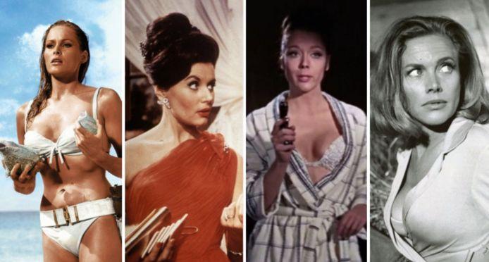 Bond-girls van vroeger tot nu.