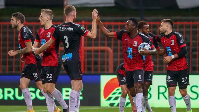 """Trainer Vincent Euvrard (RWDM) ontgoocheld over resultaat tegen Waasland-Beveren (1-3): """"Wel heel hoopgevende prestatie van mijn jongens"""""""