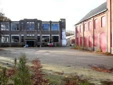 Op het terrein van deze voormalige schoenenfabriek in Dongen verrijzen veertig woningen