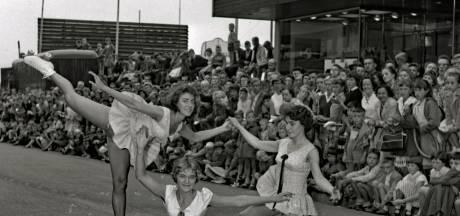 Wie stal in de Hermanus Boexstraat de show op rolschaatsen in 1959?