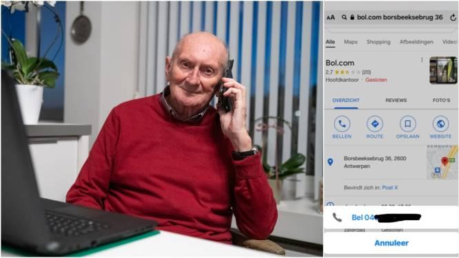 """René (87) bestookt met telefoontjes van boze Bol.com-klanten: """"'Ik wil mijn geld terug', kreeg ik maandenlang te horen"""""""
