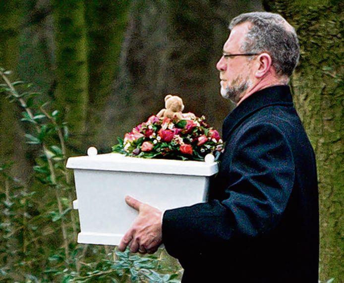 De begrafenis van de Engel van 't Meer, in januari 2007.