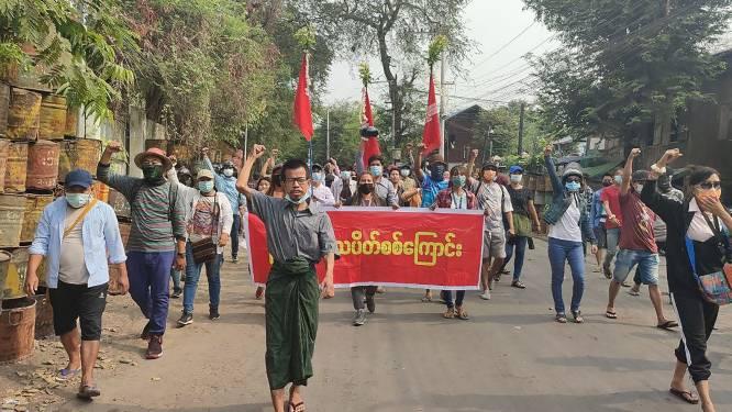 """NGO: """"Leger Myanmar veroordeelt 19 demonstranten ter dood"""""""