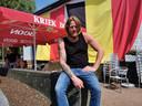 Jef van Café De Bascule in Bellingen is klaar voor het EK.