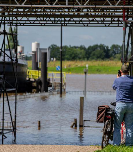 Het ongemak in het Land van Maas en Waal door het hoge water