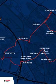 Ploegentijdrit Vuelta niet onder de Domtoren door, start en finish bij de Jaarbeurs