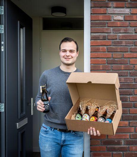 """Jonge ondernemer Davey wil het verhaal achter speciaalbier delen: ,,Als ik met vrienden ga drinken, neem ik mijn eigen biertjes mee"""""""