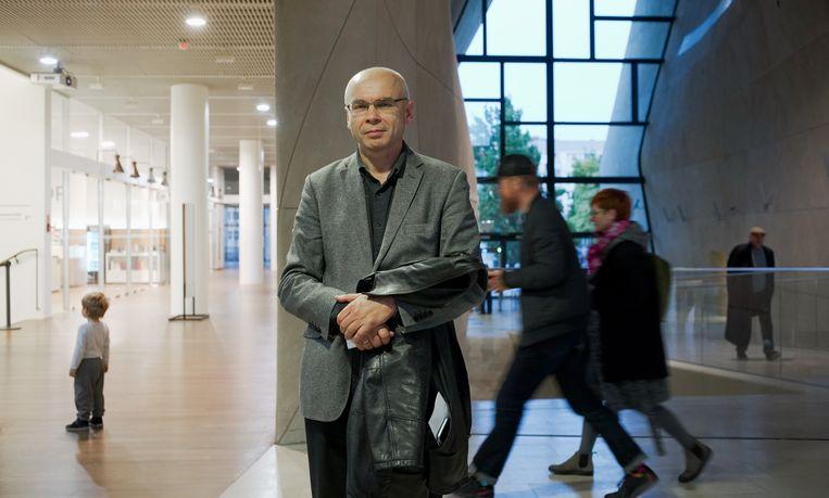 Dariusz Stola, directeur van Polin, het Joods museum in Warschau. Beeld Piotr Malecki