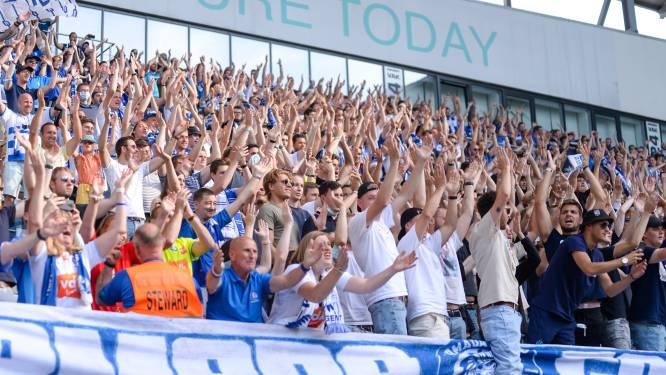 Voetbalclubs moeten kiezen: supporters tonen Covid Safe Ticket of houden afstand