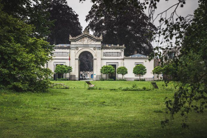 Westerbegraafplaats in Gent.