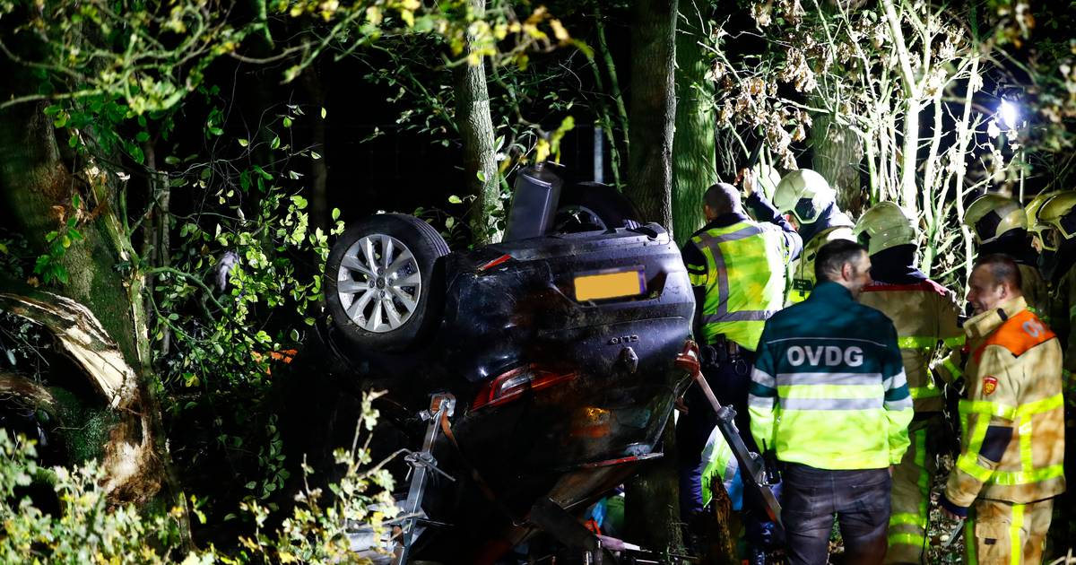 A50 bij Epe dicht richting Zwolle na ernstig ongeval.