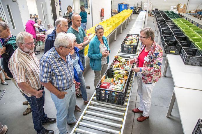 De Voedselbank in het nieuwe pand in de Marslanden.