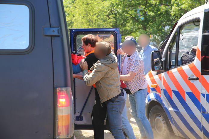 Arrestatie bij de Koekamp