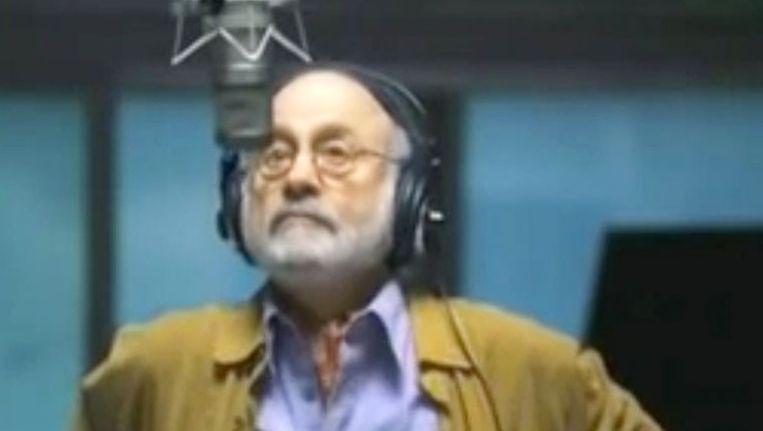 Hal Douglas, de man met het herkenbare rauwe stemgeluid Beeld YouTube