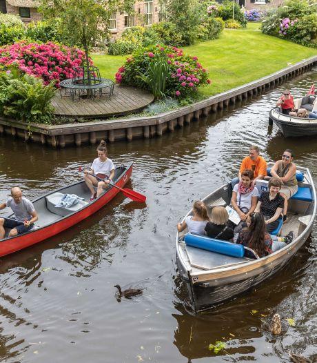 Gieters Belang boos om gang van zaken rondom vaarbeleid: 'Moeten voorbereid zijn op 1,5 miljoen toeristen'