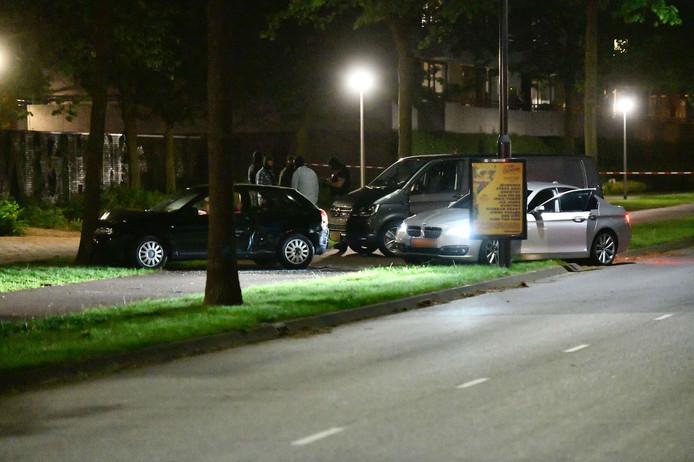 De inzet van het arrestatieteam op de Veldmaarschalk Montgomerylaan.