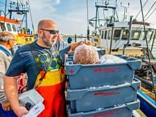Netten bomvol garnalen, maar de visserman baalt