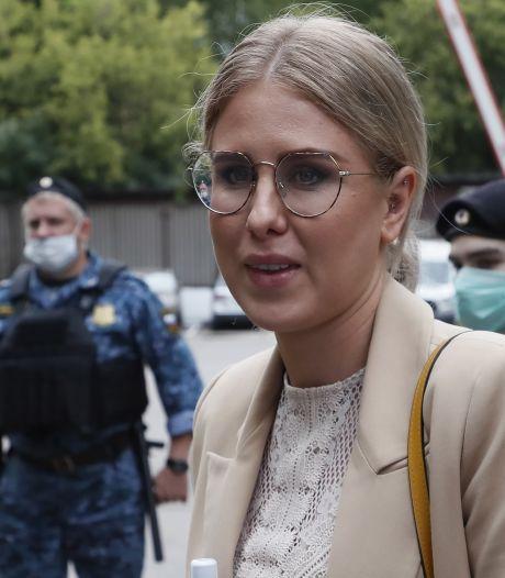 Une proche de Navalny placée en liberté surveillée