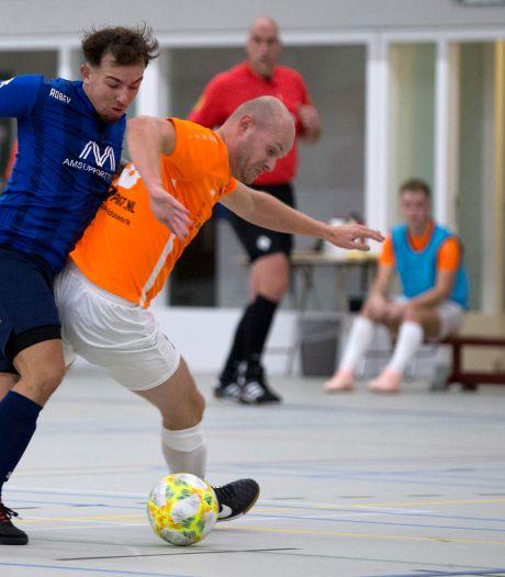 Zaalvoetbalcompetitie ook niet meer hervat