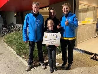 Basisschool Sint-Martinus wandelt voor Levensloop